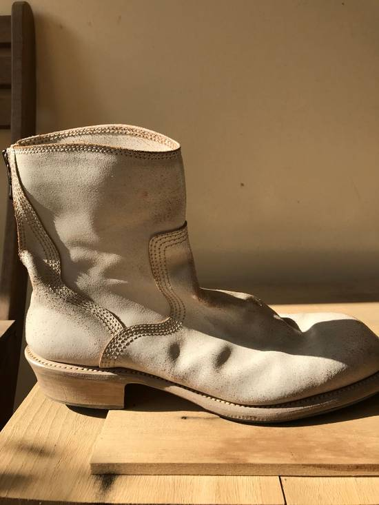 Julius SS11 cracked leather engineer boots Size US 11 / EU 44 - 3