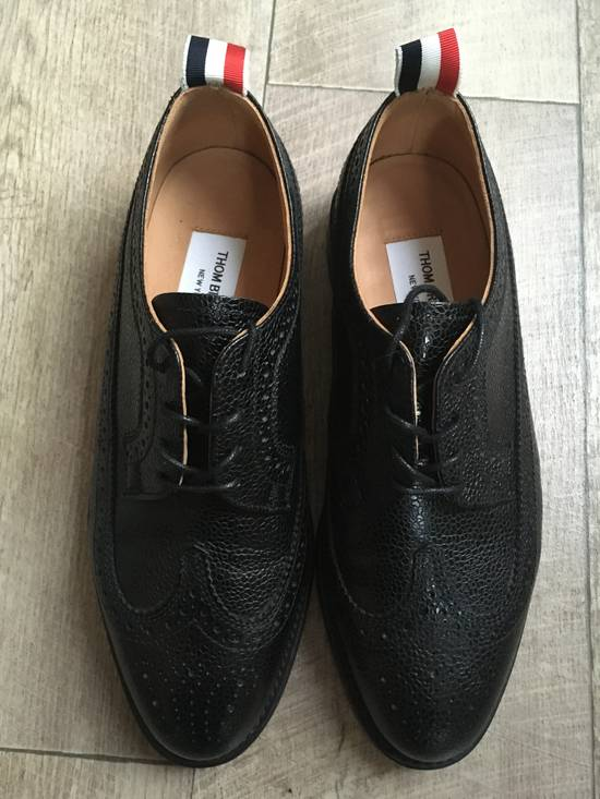 Thom Browne Classic longwing pebble grain brogues Size US 5.5 / EU 38 - 1