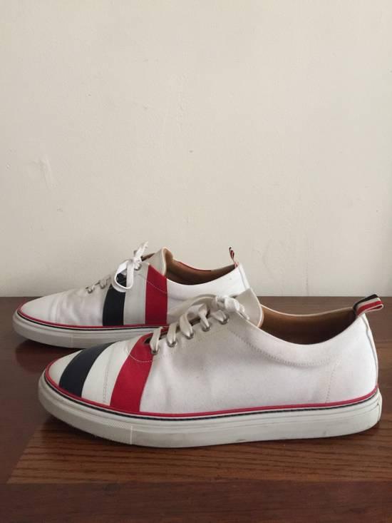 Thom Browne Men's Thom Browne Cap Toe Low-Top White Training Sneakers Size US 11 / EU 44 - 5