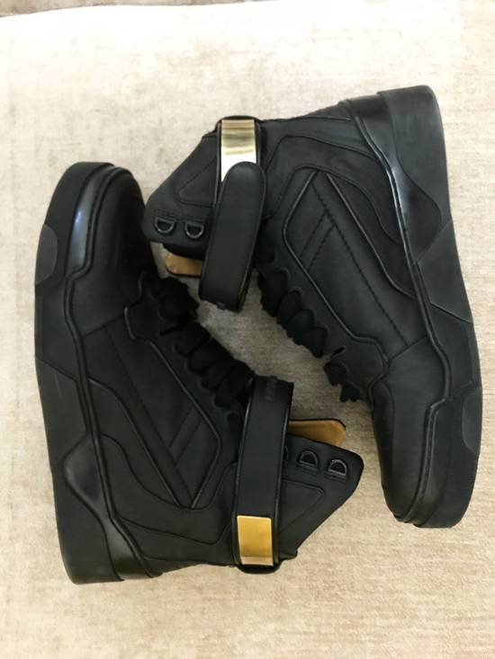 Givenchy High-Top Gold-Strap Sneaker Size US 7 / EU 40 - 5