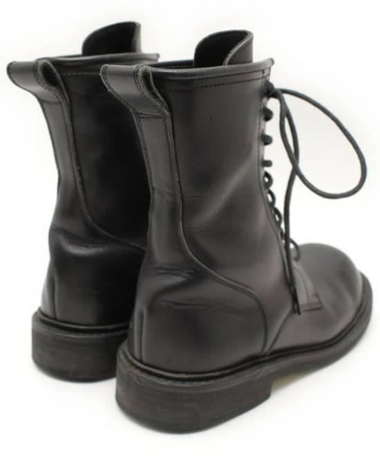 Yohji Yamamoto Archive Leather Lace Up Combat Boots Size 8