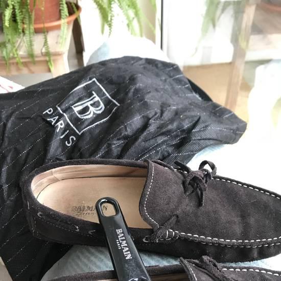 Balmain Balmain Brown Suede Driving Loafers Size US 8.5 / EU 41-42
