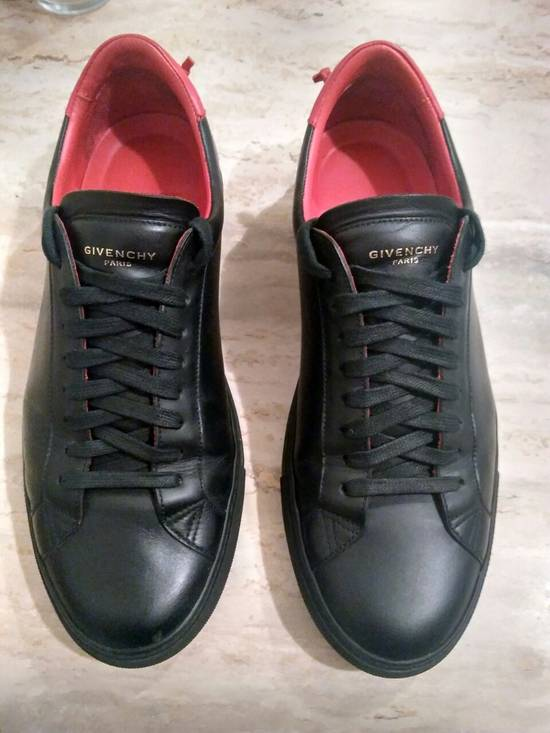 Givenchy Men's Black Urban Knots Leather Sneakers Size US 9.5 / EU 42-43 - 1