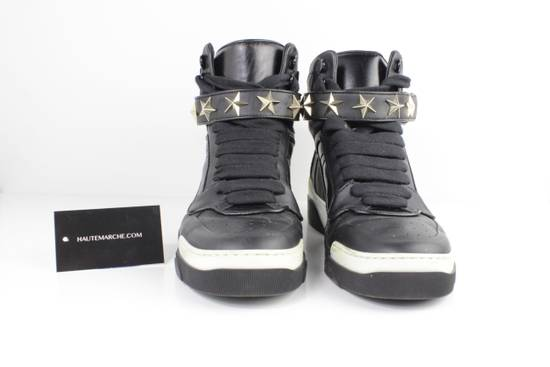 Givenchy Givenchy Black Leather High Tops Size 41 Size US 8 / EU 41
