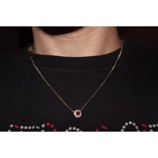Givenchy Red Crystal Necklace Size ONE SIZE