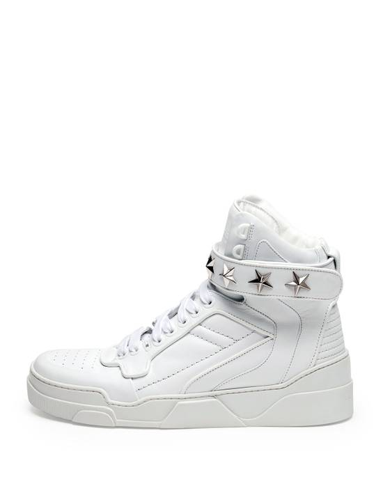 Givenchy Tyson Hightop STARS STRAPS Leather Sneaker Size US 12 / EU 45