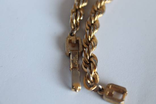 Givenchy Gold Plated Cuban-Link Necklace Size ONE SIZE - 5