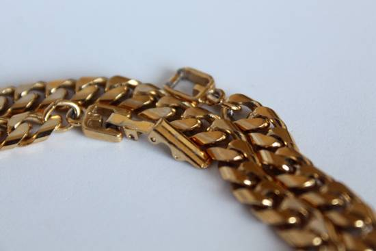 Givenchy Gold Plated Cuban-Link Necklace Size ONE SIZE - 3