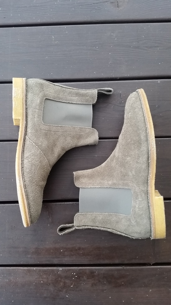 bottega veneta ss13 reversible buffalo shadow chelsea boots size 11 boots for sale grailed. Black Bedroom Furniture Sets. Home Design Ideas
