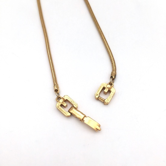 Givenchy 1976 Runway Chain Amp Pendant Size One Size