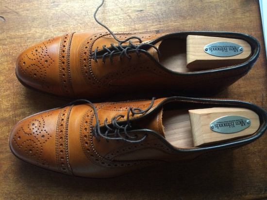Allen Edmonds Walnut Strand Firsts Size US 8.5 / EU 41-42