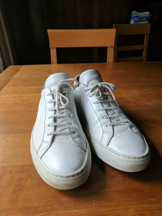 common projects common projects achilles low white size 12 casual leather shoes for sale grailed. Black Bedroom Furniture Sets. Home Design Ideas