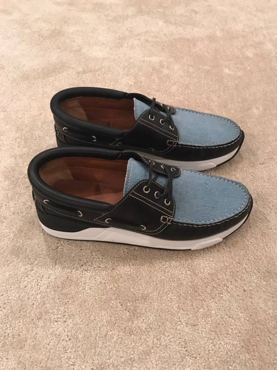 Givenchy Givenchy Denim And Black Leather Shoes Size 45 Size US 12 / EU 45 - 1