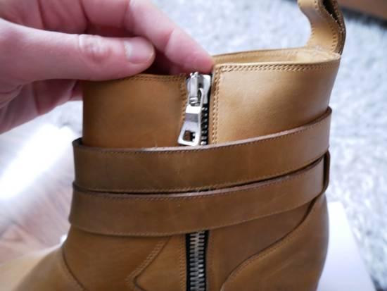 Balmain Balmain Steel Toe Boots Sz 44 (US 11) Size US 11 / EU 44 - 7
