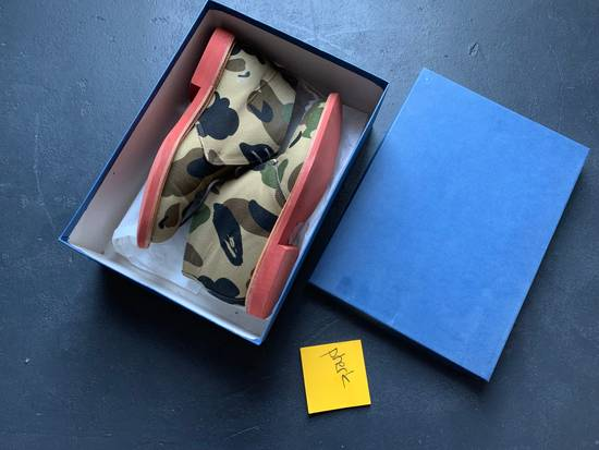 Mark Mcnairy New Amsterdam Mark McNairy x A Bathing Ape Forest Green Camo Chukka Boot Size US 8.5 / EU 41-42