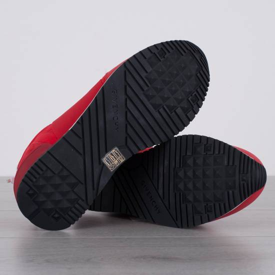 Givenchy Red Band Strap Sneakers Size US 11 / EU 44 - 4