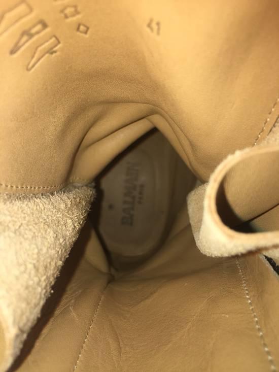 Balmain Balmain Ranger Boots Suede Decarnin 2011 Size US 9 / EU 42 - 5