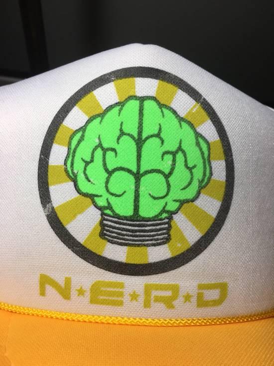 Pharrell Vintage N*E*R*D Gold/White Trucker Hat (2003) Size ONE SIZE - 4