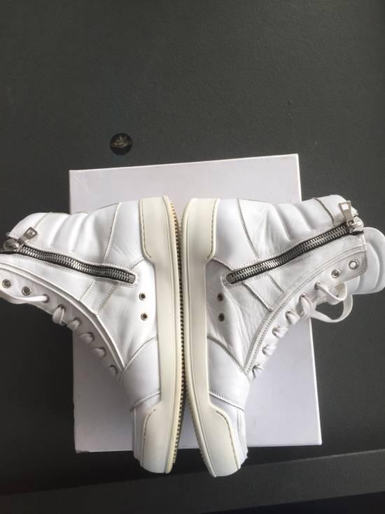 Balmain White Sneakers Size US 8 / EU 41 - 1