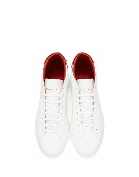 Givenchy Givenchy Urban Street Mid Sneakers - White & Red (Size - 44) Size US 11 / EU 44 - 1