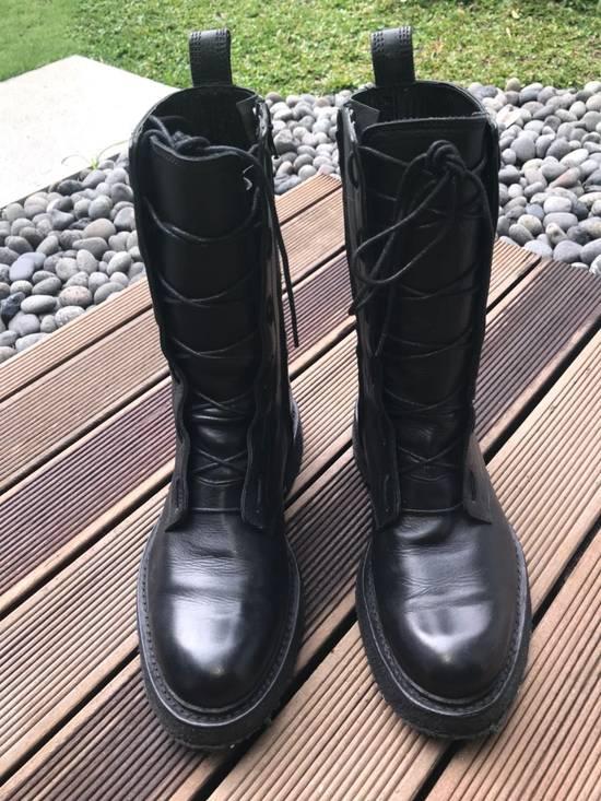 Balmain Decarnin Era 11' FW Combat Boots Size US 7 / EU 40 - 3