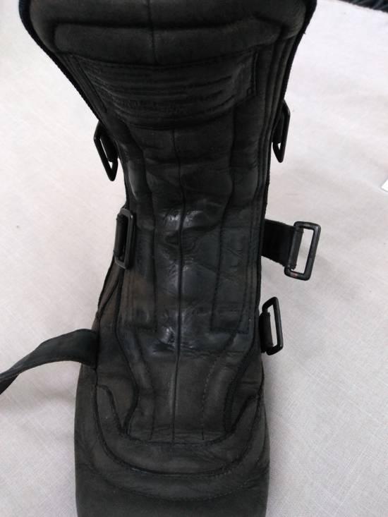 Julius Backzip Velcro Strap Leather Boots f/w11 Halo Size US 9 / EU 42 - 11