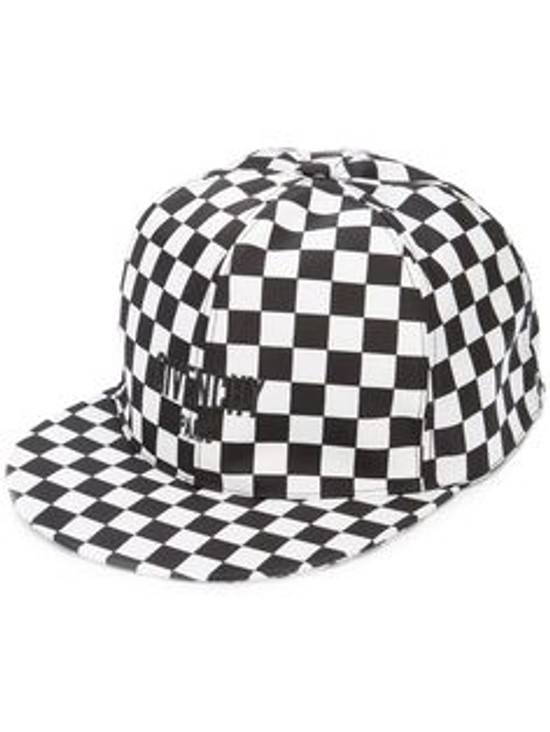 Givenchy Chequerboard Printed Shell cap white black hat Size ONE SIZE