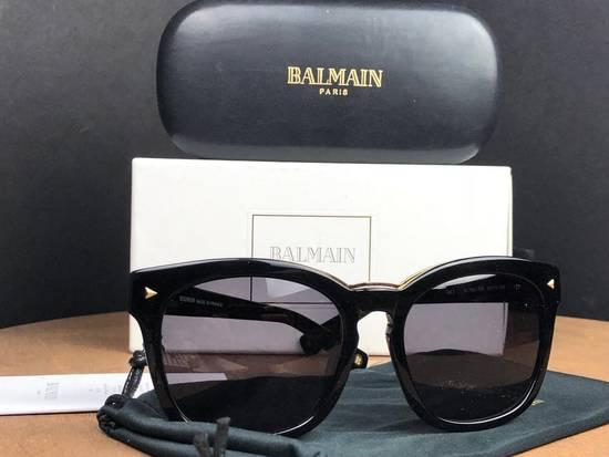 Balmain Balmain Black Gold Sunglasses BL 7008 Size ONE SIZE - 9