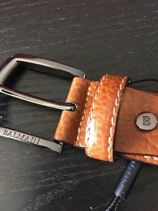 Balmain Balmain Size 34 Leather Belt Size 34 - 2