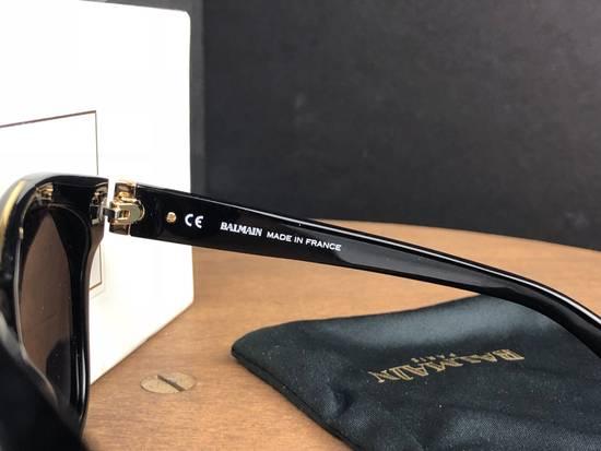 Balmain Balmain Black Gold Sunglasses BL 7008 Size ONE SIZE - 6