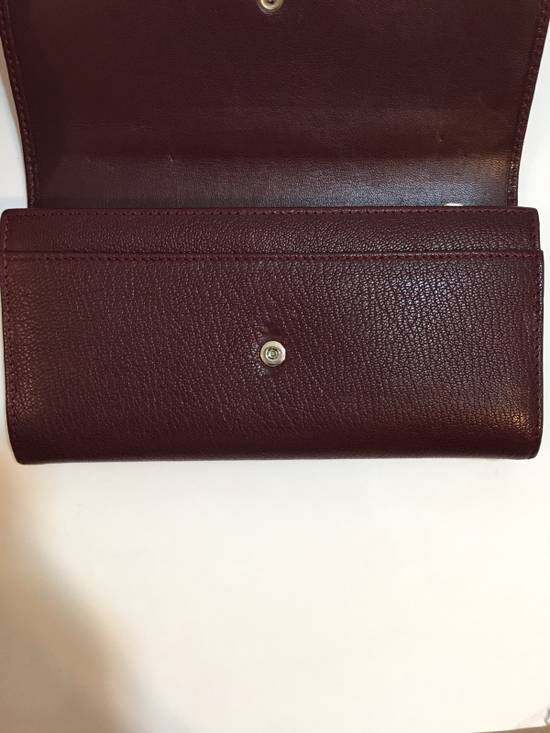 Givenchy Burgundy Long Wallet Size ONE SIZE - 3