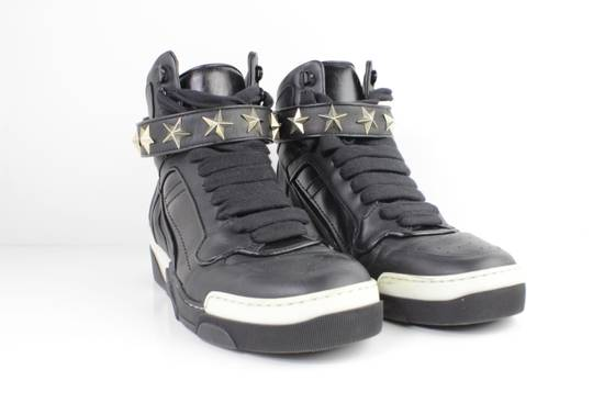 Givenchy Givenchy Black Leather High Tops Size 41 Size US 8 / EU 41 - 1