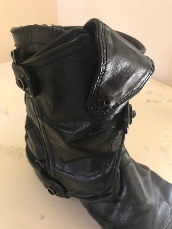 Julius AW12 gas mask removable gun holster boots Size US 9.5 / EU 42-43 - 14
