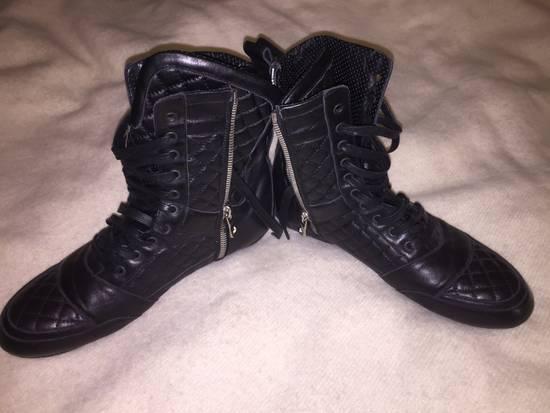 Balmain Black quilted Balmain boots Size US 9 / EU 42