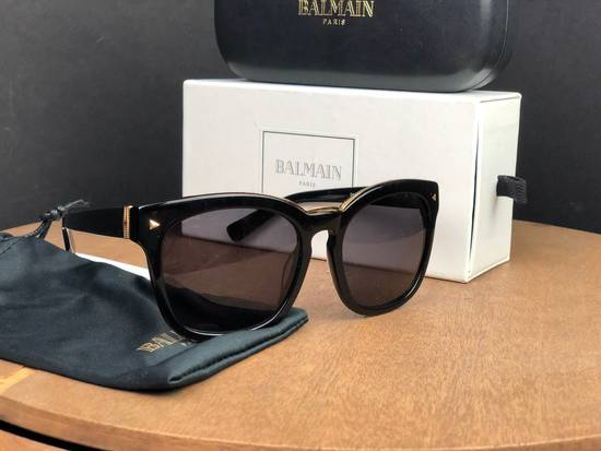 Balmain Balmain Black Gold Sunglasses BL 7008 Size ONE SIZE - 1