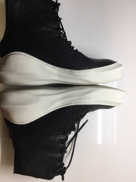 Julius Pebbled Leather Hi Top Liquid Sole Aw 2014 Size US 11 / EU 44 - 2