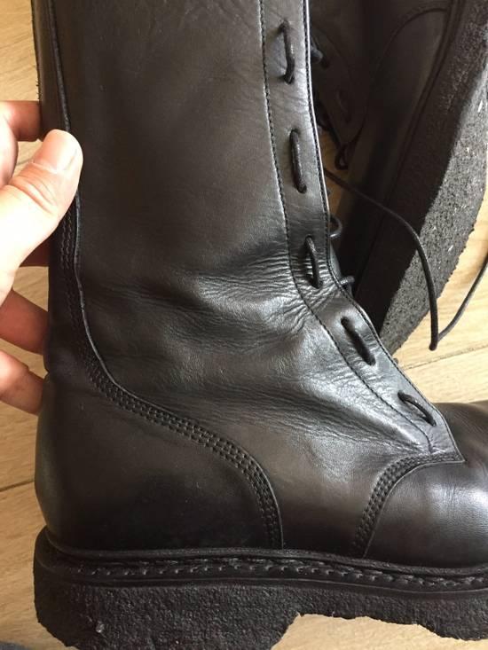 Balmain Decarnin Era 11' FW Combat Boots Size US 7 / EU 40 - 6