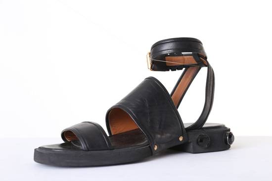 Givenchy GIVENCHY TISCI black leather jewel outsole ankle dual strap sandal EU41 US11 UK8 Size US 8 / EU 41 - 4