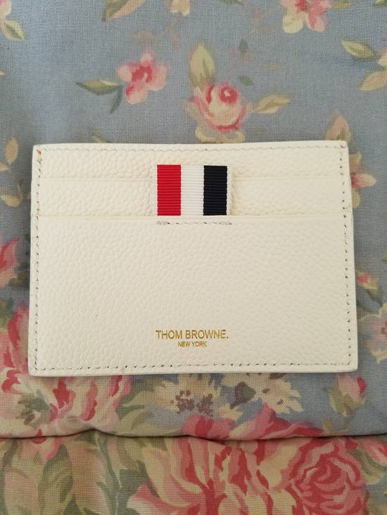 Thom Browne Tennis-Racket Leather Card Case Size ONE SIZE