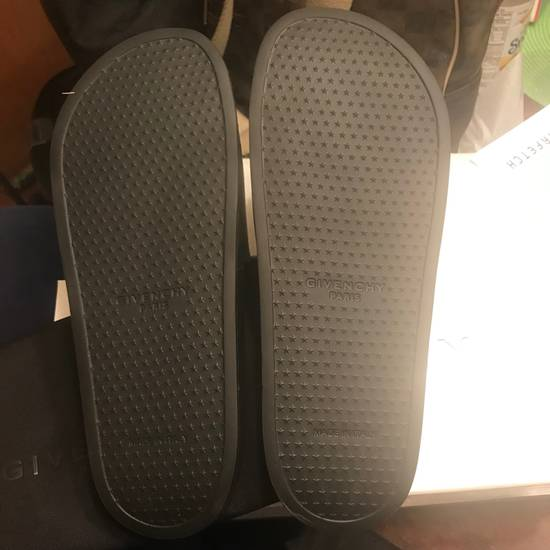 Givenchy NEW Givenchy Real Eyes Black Sandals Sz 42/9 Size US 9 / EU 42 - 3