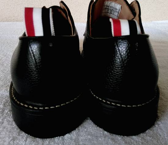 Thom Browne THOM BROWNE BLACK BLUCHER/DERBY IN PEBBLE GRAINED LEATHER Size US 10 / EU 43 - 7