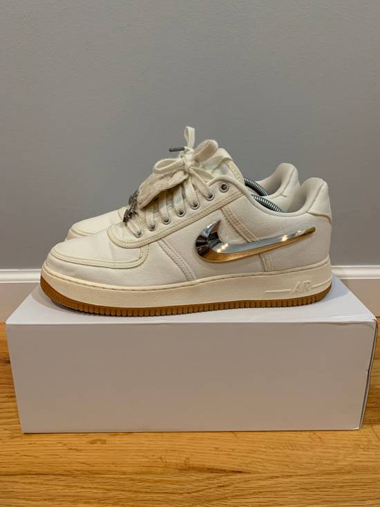 Travis Scott x Nike Air Force 1 Sail AF1 Size 10.5