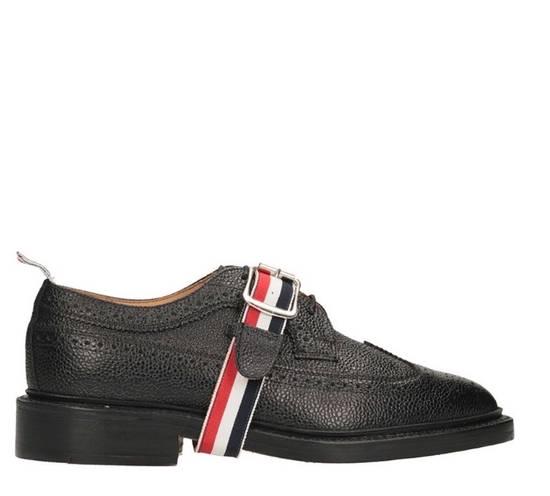 Thom Browne Brand New Thom Browne Classic Stripe Leather Lace up Size US 6 / EU 39 - 1