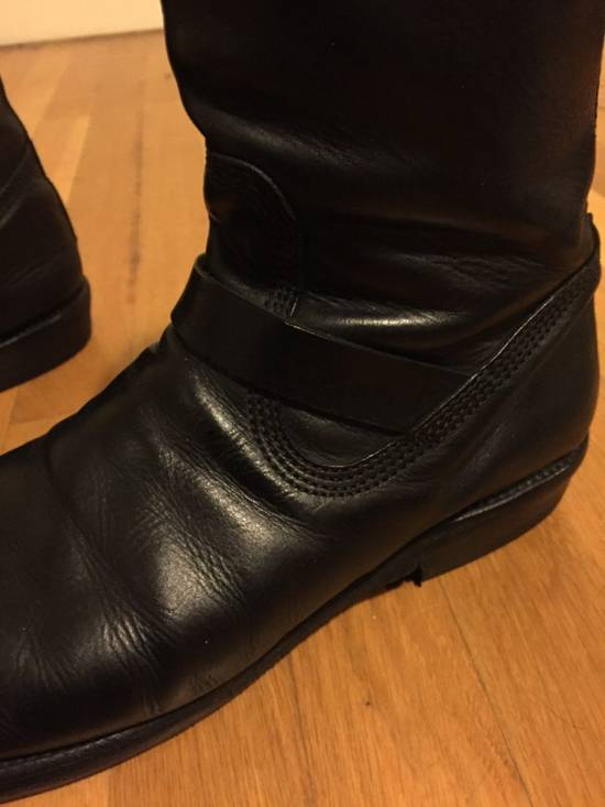 Julius BELTED LEATHER BOOT Size US 10 / EU 43 - 8