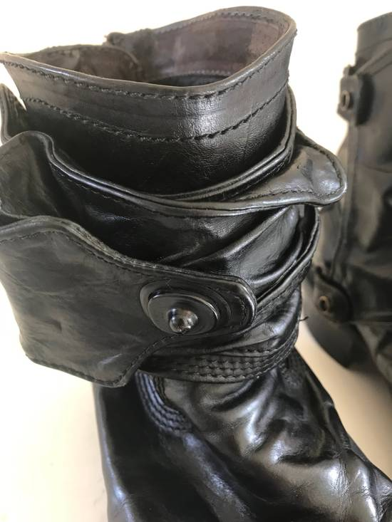 Julius AW12 gas mask removable gun holster boots Size US 9.5 / EU 42-43 - 11