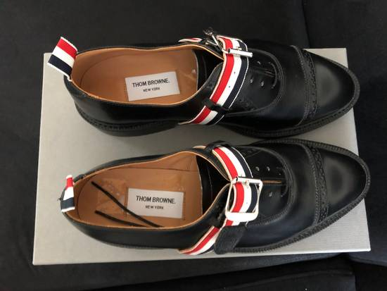 Thom Browne thom browne black pebble grain leather size 9.5US Size US 9.5 / EU 42-43 - 5