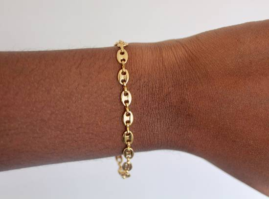Givenchy Gold Plated Gucci-Link Bracelet Size ONE SIZE