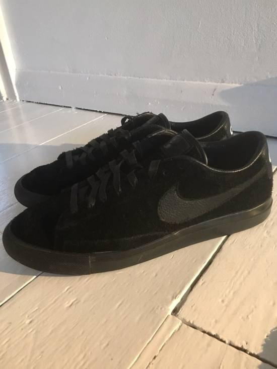 outlet store c5351 a9266 CDG X NIKE BLAZER LOW