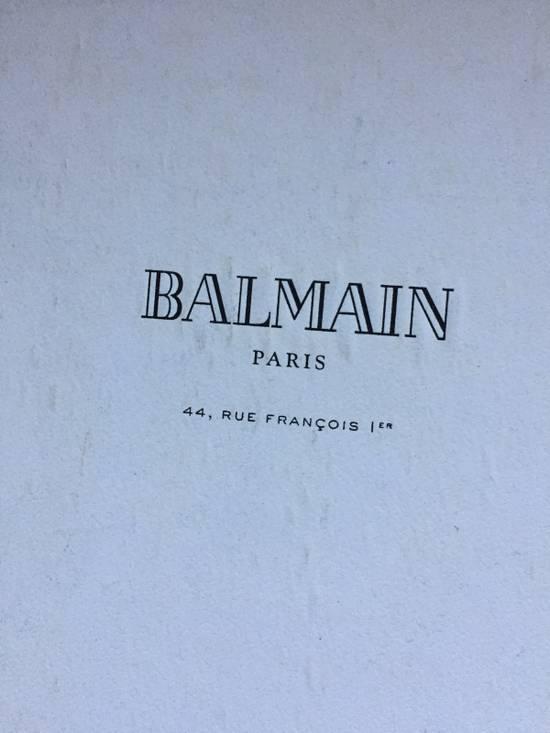 Balmain Decarnin Era 11' FW Combat Boots Size US 7 / EU 40 - 19