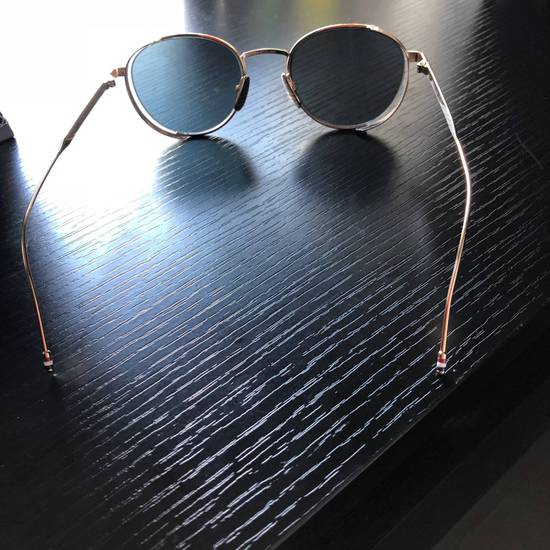 Thom Browne Thom Browne Gold Round Sunglasses Size ONE SIZE - 3